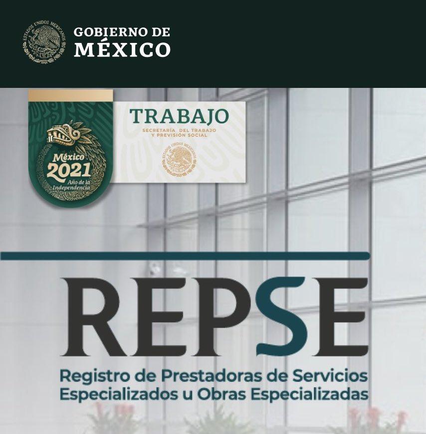 Registro De Prestadoras De Servicios Especializados U Obras Especializadas (REPSE)